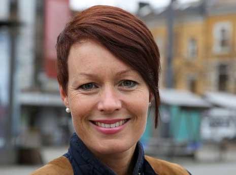 Line Henriette Holten Hjemdal, KrF. Foto: Gina Aakre.