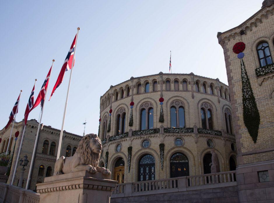 Stortinget. Foto: Morgen Brakestad/Stortinget.