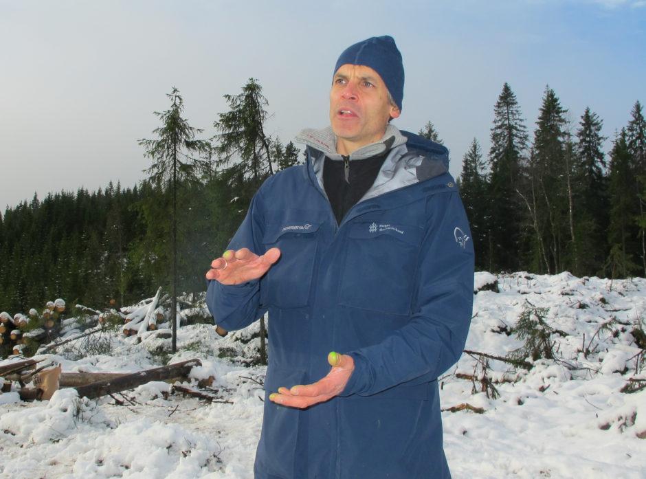 Thomas Husum har det overordnede ansvaret for Norsk PEFC Skogstandard.
