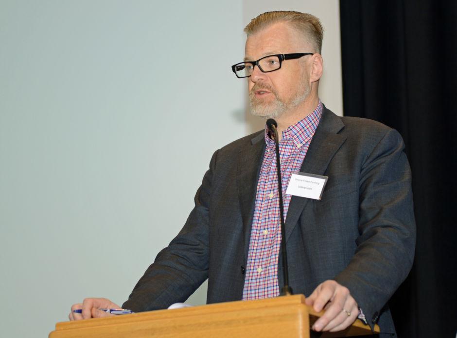 Snorre F. Furberg, er administrerende direktør i Allskog.