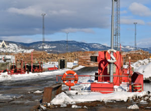 Fremtidig løsning for tømmerhavn i Drammensregionen
