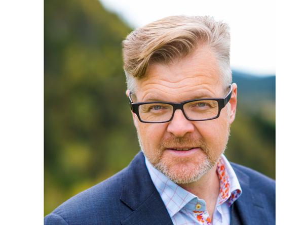 Snorre Friden Furberg er administrerende direktør i ALLSKOG.