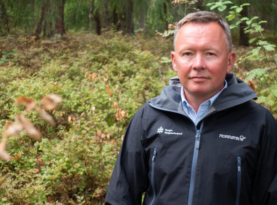 Styreleder i Norges Skogeierforbund, Olav A. Veum.