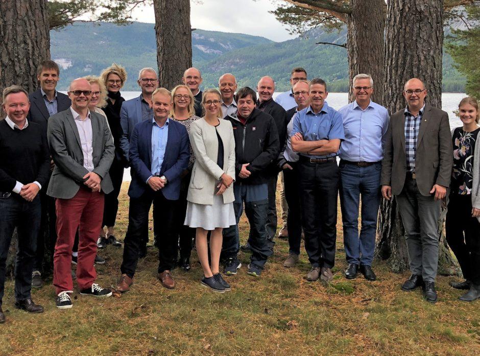 De nordiske skogeierorganisasjonene møttes i Fyresdal til sitt årlige møte.