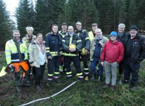 Godt samarbeid stoppet skogbranner