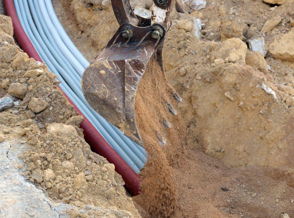 Informasjon om infrastruktur i grunnen reguleres i ny forskrift. Foto: Colourbox